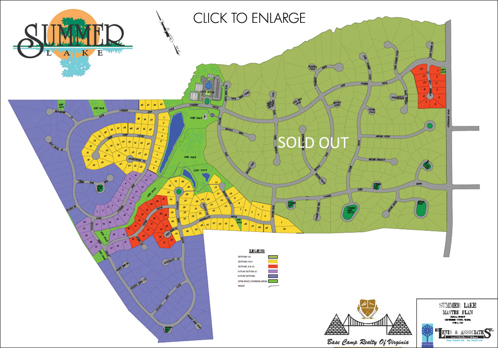SummerLake Community Map 2018
