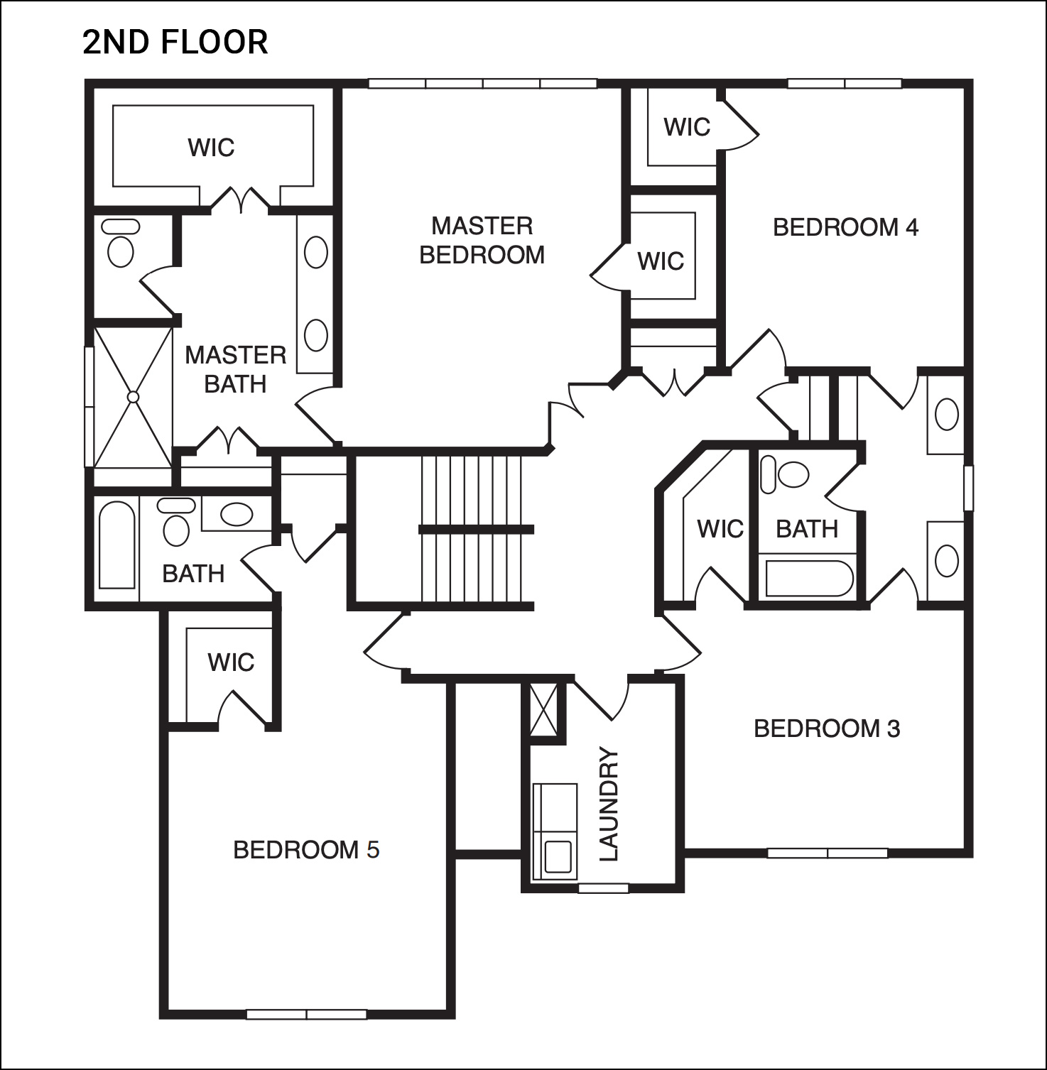 The Sycamore Model - Second Floor