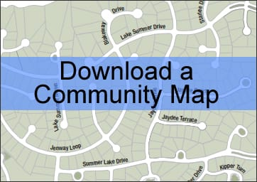 Summer Lake Community Map - New Homes Moseley, VA