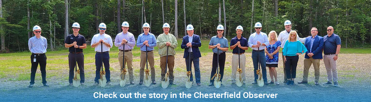 Chesterfield Observer article about Summer Lake 2021 Homearama Ground Breaking